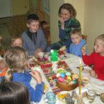 Наш первый пасхальный праздник