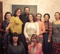 Гость из Швейцарии в Донецке